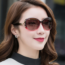 乔克女kr太阳镜偏光qu线夏季女式墨镜韩款开车驾驶优雅潮