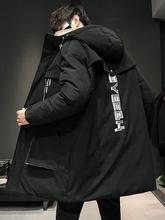 恩施耐克男士中长式轻薄羽绒服20kr130冬季ic流男式时尚潮牌