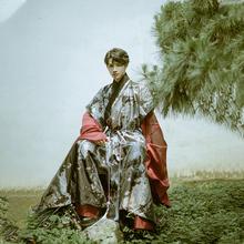 华裳九kr半亭风织金qr袍明制汉服褡护半臂汉服男女装春夏新式