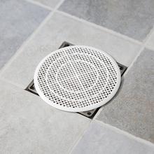 日本卫浴地漏滤网浴室毛发裁ks10过滤网we口下水道地漏盖片