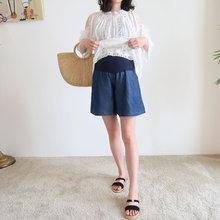 女宽松ku底托腹孕妇ng薄式外穿夏装2020新式时尚