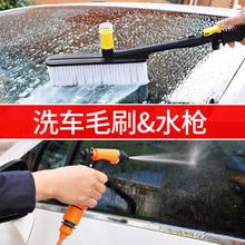 洗车神ku高压家用洗ao2V便携洗车器车载水泵刷车清洗机洗车泵