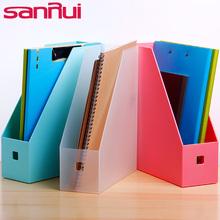 三锐单ku文件盒文件ni框文件栏文件筐桌面办公用创意