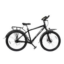 无链传ku轴无链条单ao动自行车超轻一体铝合金变速高速山地车