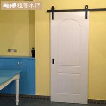 新品谷ku房门卧室门ef内门吊门移门推拉门房间门
