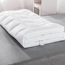 希尔顿ku酒店用防滑gu加厚折叠床褥1.8m0.9m1.5m
