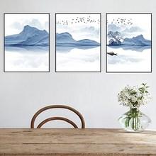 楼梯卧室餐厅饭厅图片办公室装饰画室kv14三联福nt景北欧风