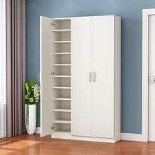 鞋柜现代简约家用门口经济型大kw11量实木nm柜出租房门厅柜