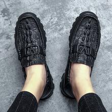 [kxob]夏季休闲皮鞋男真皮英伦韩