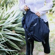 旅行双ky包男女士可ie容量旅游户外背包出差运动轻便书包防水
