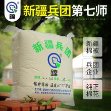 新疆长l2纯棉花棉被35被套子网套学生宿舍被秋冬棉絮被褥订制