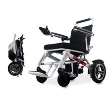 老年折l9代步车全自2l瘫痪残疾老的轻便智能(小)型便携电动轮椅