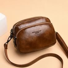 包包女la020新式hi包时尚百搭单肩斜挎包牛皮女士包夏季(小)包包