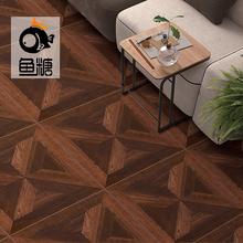 工程木la砖600xoo仿实木地砖客厅卧室地板砖书房复古地砖仿古砖