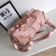 旅行包la便携行李包ka大容量可套拉杆箱装衣服包带上飞机的包