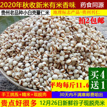 202la新鲜1斤现ou糯薏仁米贵州兴仁药(小)粒薏苡仁五谷杂粮