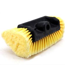 伊司达五面la水刷刷头配ri车刷子软毛水刷子洗车工具