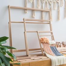 居家dlay手工制作ri毛线挂毯成的家用中大号纺织机