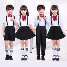 六一儿la演出服套装er男女童中(小)学生大合唱服诗歌朗诵表演服