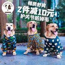 宠物狗la秋冬护肘衣ui犬过新冬季金毛2020新式拉布拉多年喜庆