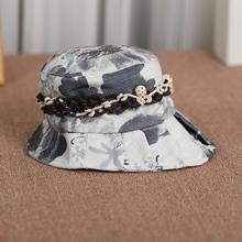 山叶草女式沙滩帽度假帽子