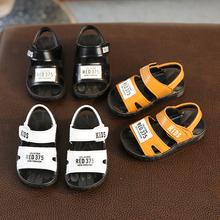 夏季宝ld凉鞋1-3hf防滑软底3-6岁婴儿学步宝宝(小)童中童沙滩鞋