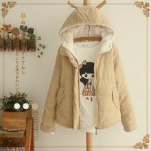 冬季新ld宽松纯色面hf棉服韩国短式加厚显瘦棉衣外套(小)棉袄