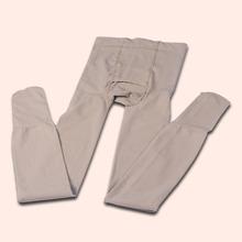 200ld连裤袜天鹅p8保暖长裤袜开口男士修身秋裤性感丝袜男的袜