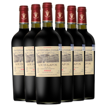 法国原ld进口红酒路wh庄园公爵干红葡萄酒14度整箱750ml*6