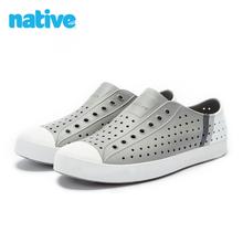 natleve shng男鞋夏季凉鞋新式Jefferson轻便休闲透气EVA洞洞