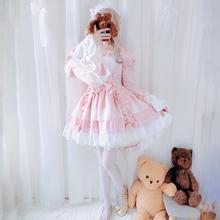 花嫁lolitle裙子正款萝ha主lo裙娘学生洛丽塔全套装儿童女童秋