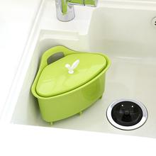 韩国进le厨房水槽角cy篮洗菜篮灶台面水果盆滤水架