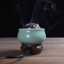 家居卧室 插电定时调温le8电 陶瓷cy炉 精油 木条 檀沉香粉