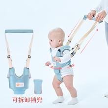 宝宝牵le绳婴幼儿学fa器宝宝两用辅助学行护腰防勒防摔