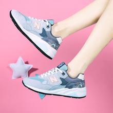 新百伦le99樱花系gb鞋女鞋旅游跑步休闲情侣男鞋跑步鞋春夏式