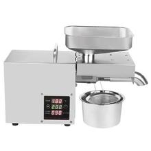 。家用le你商用(小)型gq机器温控压榨机多功能菜籽中型电
