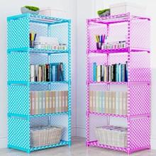 书架简易桌上le3地书柜置ou收纳特价学生书架子