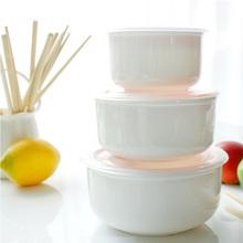 骨瓷盖le宿舍泡面碗ue件套微波炉陶瓷碗带盖饭盒