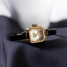 前任3le见前任林佳ou款聚利时女表时尚潮流方形(小)巧女士手表