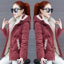 短式加lf金丝绒(小)棉lg羽绒棉衣冬装2020年新式棉服灯芯绒外套
