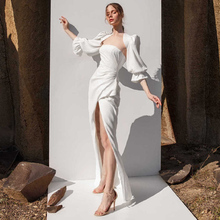 晚礼服lh020新式aa婚女气质优雅红毯走秀年会宴会主持的连衣裙