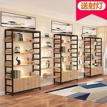 货架美li院置物架多un组合超市美容鞋架货架产品展示柜化妆品