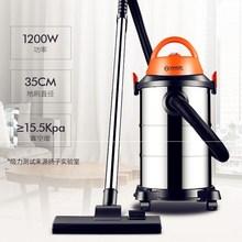 。吸尘li家用商用大al湿吹三用桶式(小)型除螨大功率装修吸尘。