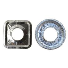 炉灶垫煤气灶防油垫厨房铝箔垫耐高温li14溢锡纸ij子30片装