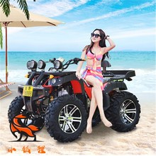 玩具车广场沙滩车li5油电动四ij野汽油迷你冲49cc二儿童出。