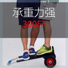 拉货(小)li车折叠拉杆oo搬家神器行李车便携式载重搬运购物拉车