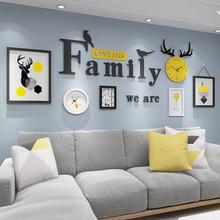 现代简li客厅装饰画fs景墙画北欧餐厅墙面墙壁画卧室房间挂画