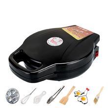 电饼铛li饼锅家用平en加大号家庭蛋糕机两用(小)型平底锅煎工具