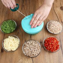 家用手li绞肉绞菜机ba绞蒜神器厨房搅菜捣压蒜泥器碎大蒜工具