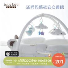 婴儿便li式床中床多yi生睡床可折叠bb床宝宝新生儿防压床上床